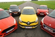 Citroën DS3 Racing, Ford Fiesta ST,Peugeot 208 GTi, Renault Clio R.S. etSeat Ibiza SC Cupra : 5 bombinettes au pied levé