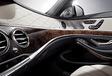 L'intérieur de la Mercedes Classe S #7