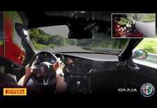 Een door Fabio Francia  bestuurde Alfa Romeo Giulia Quadrifoglio heeft de Porsche Panamera Turbo het Nordschleife-ronderecord voor in serie geproduceerde berlines afhandig gemaakt met een chrono van 7.32. Bekijk de video!