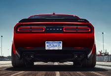 De Dodge Challenger Hellcar ontwikkelt een vermogen van meer dan 700 pk. Toch zien de Amerikanen wat ruimte voor een nog extremere Demon-variant.