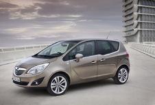 Opel Meriva 1.7 CDTI 110 Black Edition (2010)