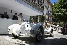 Italiennes à la fête au concours d'Élégance de la Villa d'Este