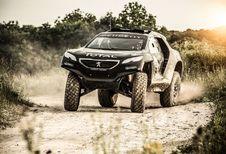 La Peugeot 2008 DKR pour le Dakar