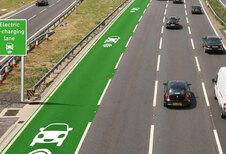 Proeven rijdend opladen in Groot-Brittannië