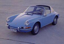 50 ans de Porsche Targa à Autoworld