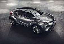 Toyota C-HR définitif à Genève ?