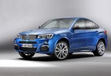 BMW X4 M40i voor 2016
