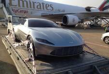 Aston Martin DB10 betrapt