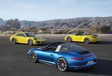 VIDÉO - Porsche 911 (991) Targa 4 et Carrera 4 restylées