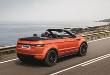 Range Rover Evoque Convertible geeft zich eindelijk helemaal bloot