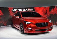 Subaru Impreza Sedan Concept: een vierdeursversie