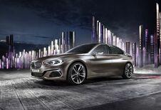 BMW Compact Sedan Concept: een voorsmaakje van de toekomstige 1-Reeks