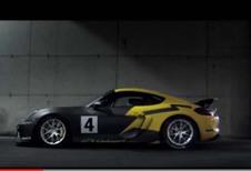 Porsche Cayman GT4 Clubsport: losgeslagen