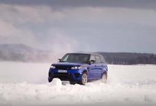 Range Rover Sport SVR : tout en glisse avec l'explorateur Ben Saunders #1