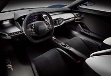 Ford GT: het interieur