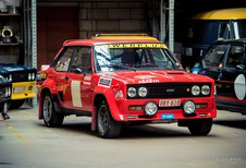 Legend Boucles de Bastogne: Guy Verhofstadt in een Fiat Ritmo Abarth