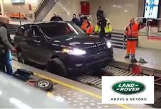 Gespot in de metro: een Range Rover Sport!