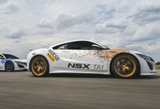 Meerdere NSX'en op Pikes Peak