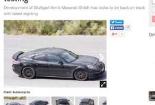Porsche: binnenkort een kleine Panamera