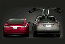 Tesla Model S en X 100D bevestigd