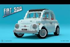 Fiat 500 Lego: grote kit voor kleine auto