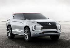 Mitsubishi GT-PHEV Concept: toekomstige Outlander
