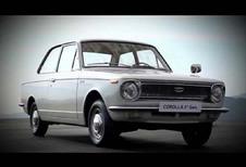 Toyota viert vijftigste verjaardag van de Corolla
