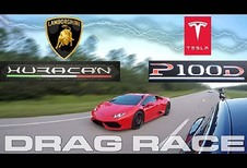 Tesla S P100 D vs Lamborghini Huracan : Qui aura la victoire ?