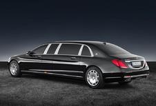 Mercedes-Maybach S600 Pullman krijgt Guard-behandeling