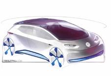 Volkswagen: elektrische conceptcar krijgt vorm