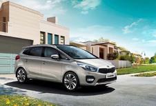 Kia Carens: lichte facelift