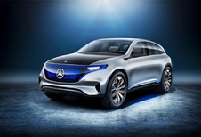 Mercedes Generation EQ Concept: Telsa Model X in het vizier...