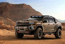 Chevrolet Colorado ZH2: militaire conceptcar op waterstof