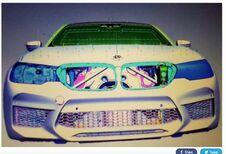BMW M5 : premières images virtuelles !