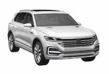 Volkswagen Touareg: gelekte 3D-beelden