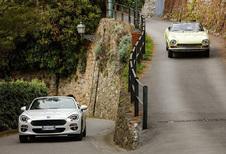 Eerste Fiat 124 Spider viert vijftigste verjaardag