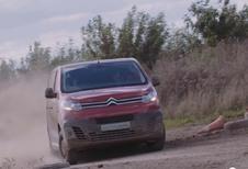 Citroën : Le SpaceTourer en mode WRC !