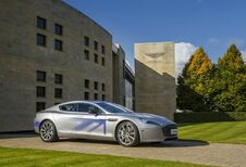 Aston Martin RapidE: meer geld nodig