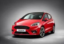 1re image de la nouvelle Ford Fiesta