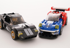 Ford GT40 en GT in Lego