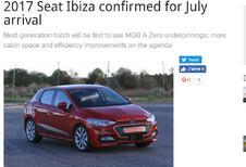 Seat: nieuwe Ibiza verkrijgbaar vanaf deze zomer