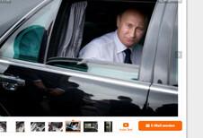 Gepantserde Mercedes van Poetin te koop
