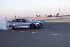 BMW M4: driften volgens het boekje