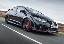 Goed en slechts nieuw over de Honda Civic Type R Black Edition