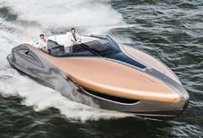 Lexus : Le yacht se jette à l'eau