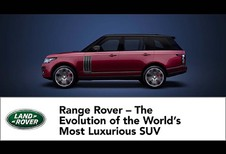 Land Rover: 48 jaar Range Rover in een video #1