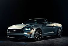 Ford Mustang Cabriolet facelift