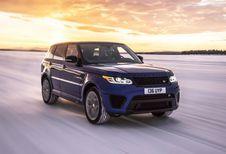 Range Rover Sport SVR: acceleratietijden op alle soorten ondergrond
