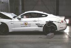 Mauvais résultat EuroNCAP pour la Ford Mustang