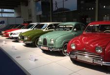 Klassieke Saabs in Autoworld Brussels